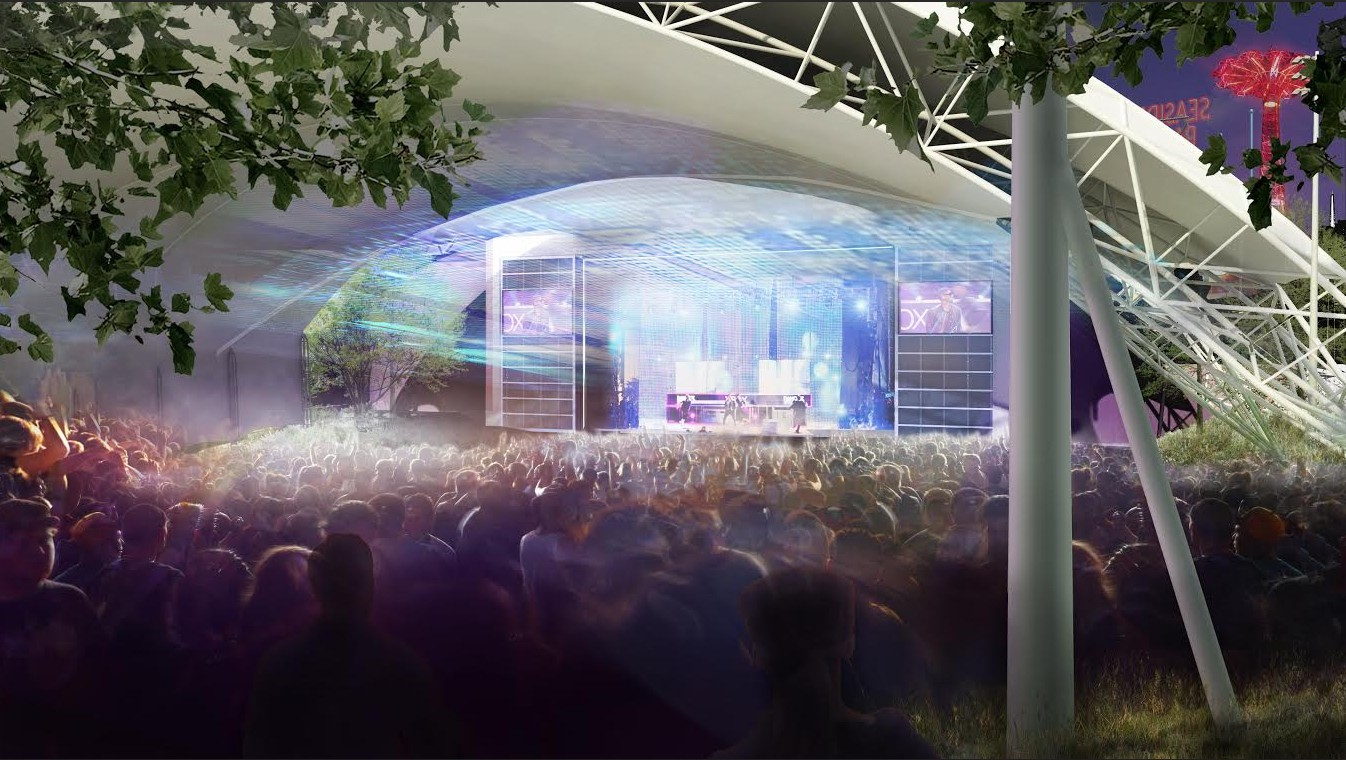Ford Amphitheater at Coney Island