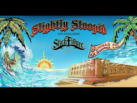 Slightly Stoopid, Stick Figure & Pepper at Ford Amphitheater at Coney Island