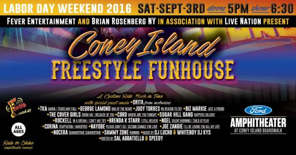 Coney Island Freestyle Fun House at Ford Amphitheater at Coney Island