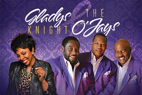 Gladys Knight & The O'Jays at Ford Amphitheater at Coney Island