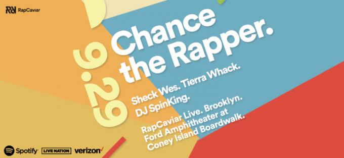 RapCaviar Live: Chance the Rapper at Ford Amphitheater at Coney Island