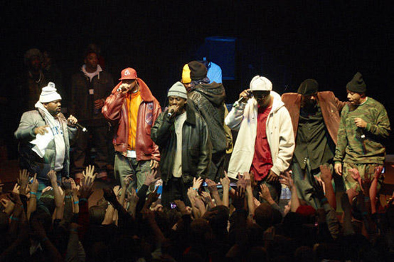 Wu-Tang Clan at Ford Amphitheater at Coney Island
