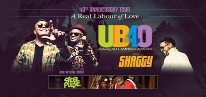 UB40's Ali and Astro & Shaggy at Ford Amphitheater at Coney Island