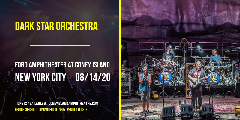 Dark Star Orchestra at Ford Amphitheater at Coney Island
