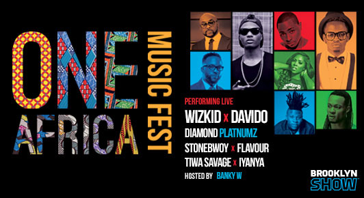 One Africa Music Fest at Ford Amphitheater at Coney Island