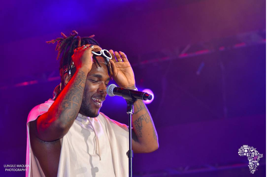 Burna Boy at Ford Amphitheater at Coney Island