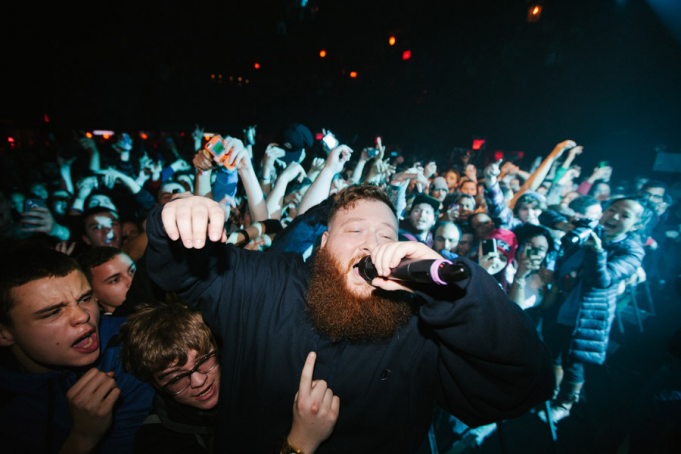 Action Bronson at Ford Amphitheater at Coney Island