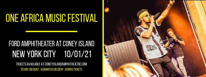 One Africa Music Festival at Ford Amphitheater at Coney Island